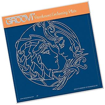 Groovi Earth Element A5 Square Plate
