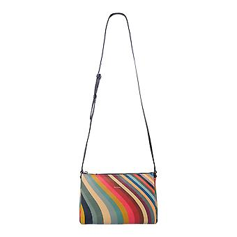 Paul Smith W1a5819cswirl90 Women's Multicolor Leather Shoulder Bag
