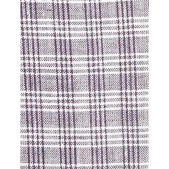BUTTONED DOWN Miehet&s Classic Fit Spread-Collar Casual Pellava Puuvillapaita, Musta/Valkoinen Ruudullinen, 20-20.5&0; Kaula 36-37&hiha (Iso ja pitkä)