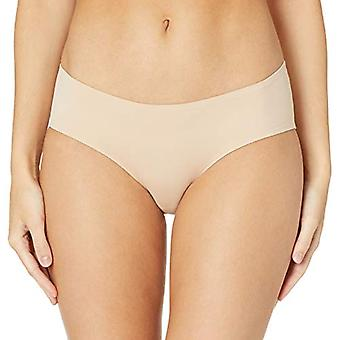 Essentials Dames's 4-Pack Seamless Bonded Stretch Hipster Panty, Neutrale Mix, L