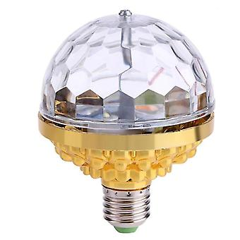 6w Rotating, Crystal Magic Ball-led Stage Light Bulb