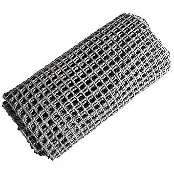 tapis de tronc antidérapant 120 x 90 cm gris synthétique