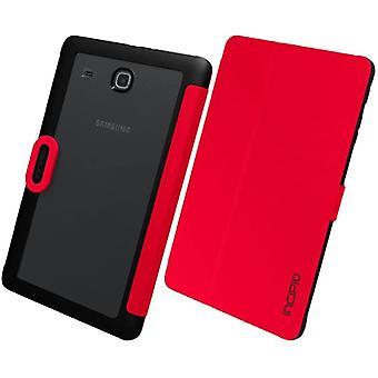Incipio Clarion Folio case for Samsung Galaxy Tab E 8.0 SM-T377 - Red/Black