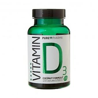 Purepharma - D3: Vitamin D3 - Coconut Formula 120s