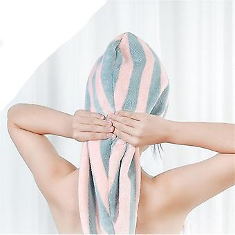 Microfiber Magic Bathing Quick Dry Turban Wrap Hair Cap Towel