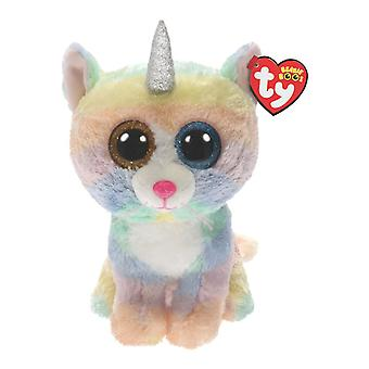 TY Boo Med - Heather Cat With Horn