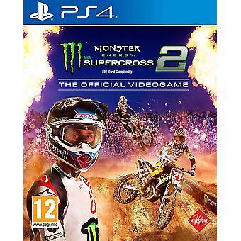 Monster Energy Supercross De officiële video game 2 PS4