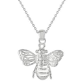 Dew Sterling Silber Bee bewegliche Flügel Anhänger 98082HP028