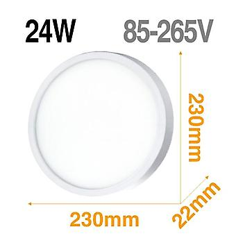 Led Panel Light Surface Mounted Downlight Lamp Ultra Thin For Kitchen Bath