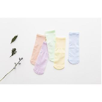 Kids Socks Summer Thin Comfortable Breathable Cotton Fashion Baby Socks For 0~6