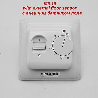 Electric Floor Heating System - Room Manual Temperature Regulator