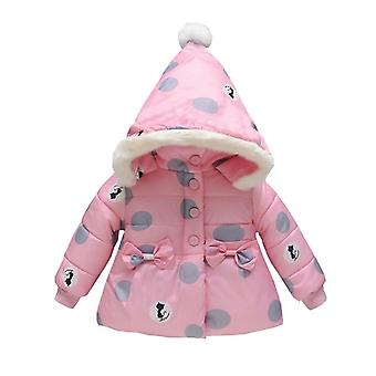 Baby Girls Coat Outerwear Winter Hooded Jacket