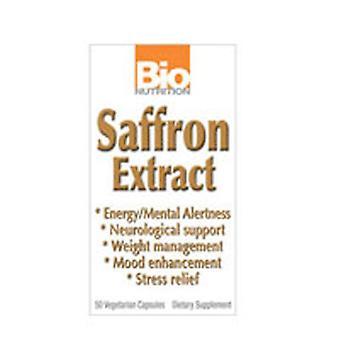 Bio Nutrition Inc Saffron Extract, 50 VEG CAPS