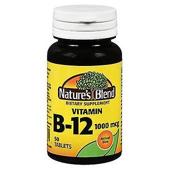 Nature's Blend Vitamin B12 Tablets, 1000 mcg, 50 Tabs