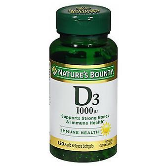 Nature's Bounty Vitamin D, 1000 IU, 100 tabs