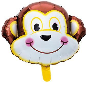 Foil Balloon Monkey 46cm