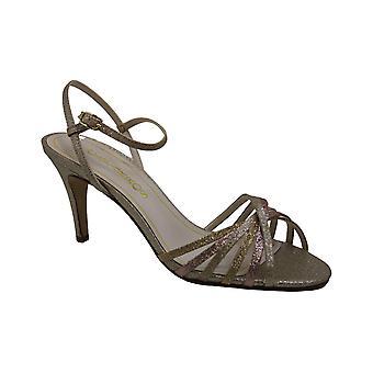 Caparros Womens Qualiah Leather Open Toe T-Strap Classic Pumps