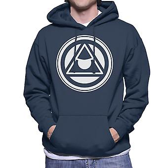 Masters of the Universe Triangle Icon Män's Hooded Tröja
