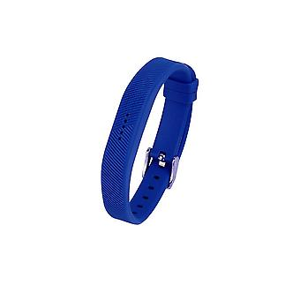 Replacement Wristband Bracelet Strap Band for Fitbit Flex 2 Classic Buckle[Small,Blue] BUY 2 GET 1 FREE
