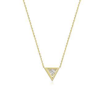 Driehoek Gouden ketting