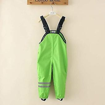 Baby Kids Overalls Trousers Outdoor/rain Pants, Waterproof Overalls High