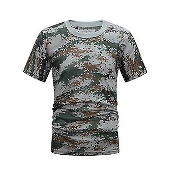 Tactical Camouflage Shirt Hunting Camo Shirt Breathable Quick Drying Loose