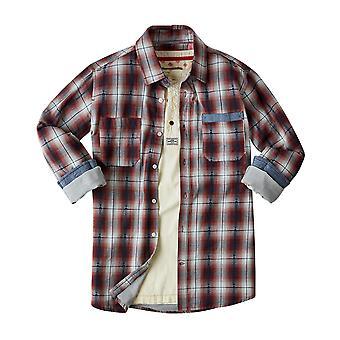 Joe Browns Mens Faded Kontrollera Skriv casual shirt