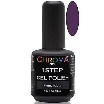Chroma Gel One Step Gel Polish - Plumalicious