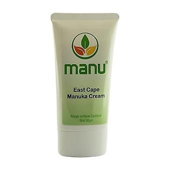 East Cape Manuka Cream - 50g Natural Cream With Pure Manuka Oil - Cream for Fungal Infections & Bacteria - Skincare & Skin Flora Rebalancing