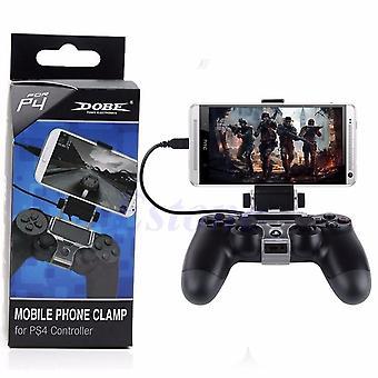 Mikro USB Kablosu ile PS4 Denetleyicisi İçin Cep Telefonu Kelepçesi