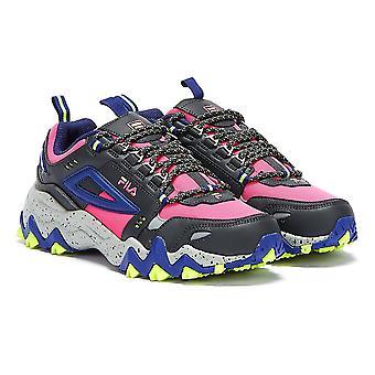 Fila oakmont Trail naisten vaaleanpunainen Glo/Blue Trainers