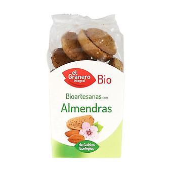 Organic Almond Cookies 250 g (Almond)