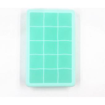 15 Grid Food Grade Silicone Ice Tray And Ice Cube Mold - Square Shape Ice Cream