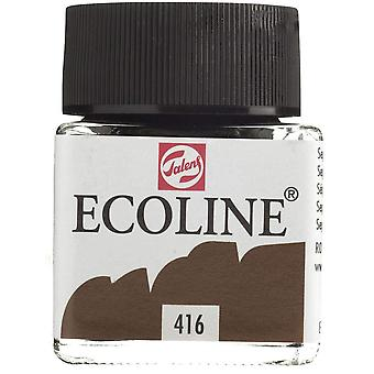 Ecoline liquid watercolour sepia 30ml brown