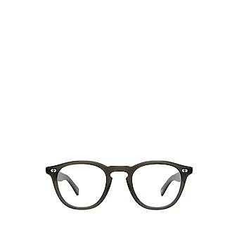 Garrett Leight HAMPTON X black glass male eyeglasses