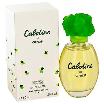CABOTINE by Parfums Gres Eau De Toilette Spray 1.7 oz / 50 ml (Women)