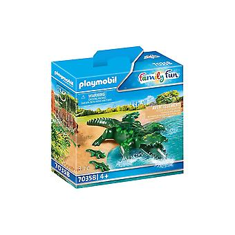 Playmobil 70358 Family Fun Alligator with Babies