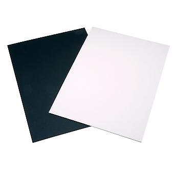 Daler Rowney Mount Board A1 Black/Hi White (Pack of 20)