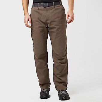Brown Brasher Men's Lined Walking Trousers