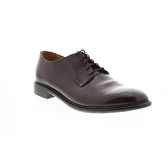 Geox U Guildford Mens Brown Leather Oxfords & Lace Ups Plain Toe Shoes