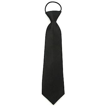 Solid Neck Easy To Wear/girls Students Tie Stage
