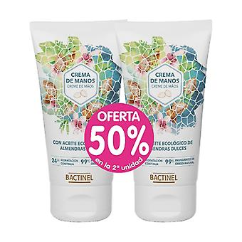 Promo Pack Bactinel Almond Hand Cream 2 units of 50ml