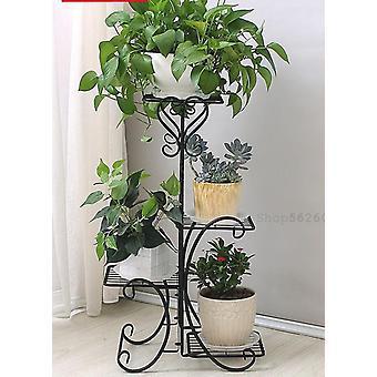 Green Flower Stand Rack