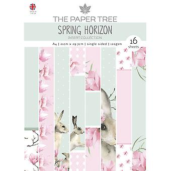 The Paper Tree - Spring Horizon Collection - A4 - Insert Collection