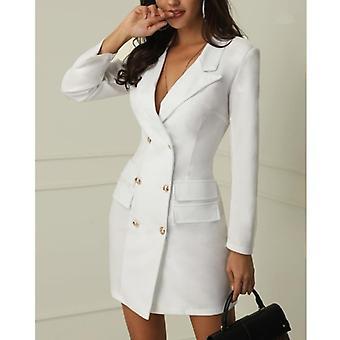 Blazer Ceket Uzun Outwear