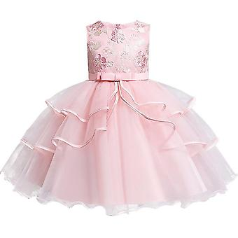 Ball Gown, Elegant Wedding Party Princess Sequin Dresses For Baby