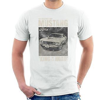 フォードマスタング試乗フォード新しいキングオブロードメン&アポ;sTシャツ