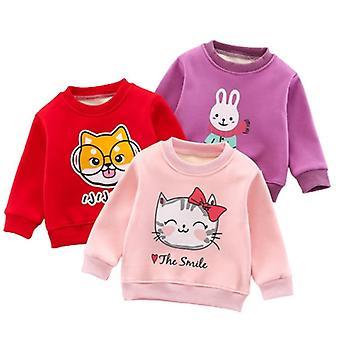 Children Sweatshirt Toddler Baby Fleece Hoodies Warm Clothing