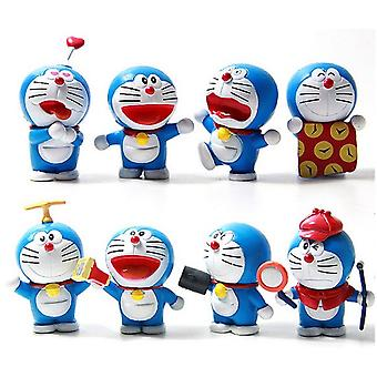8szt Doraemon Jingle Rysunek Toy