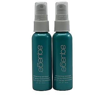 Aquage Thickening Spray Gel 2 OZ Set of 2